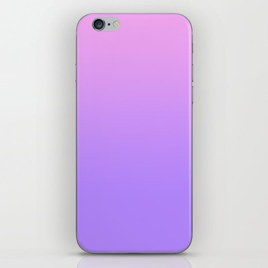 PINK PURPLE FADE iPhone & iPod Skin