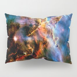 GAlAxY : Mystic Mountain Nebula Pillow Sham