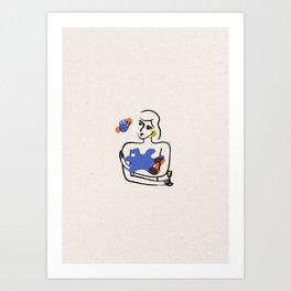 _ eyes of hope Art Print