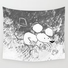 minima - deco mouse Wall Tapestry
