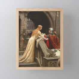 "Edmund Blair Leighton ""God Speed!"" Framed Mini Art Print"