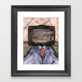 CONSUMPTION Framed Art Print