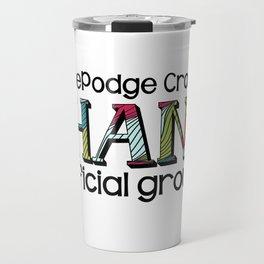 HodgePodge Crochet Ohana 2015 Groupie Design Travel Mug