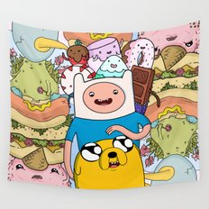 Adventure Time Wall Tapestry