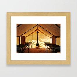 High Country Camp Framed Art Print