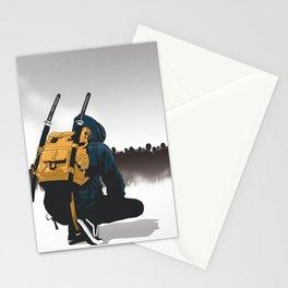 Zommbi Samura Stationery Cards