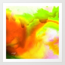Abstract Bliss 1H by Kathy Morton Stanion Art Print