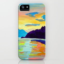 Crossing Lake Okanagan iPhone Case