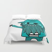 pirate Duvet Covers featuring Pirate by TheAsmek