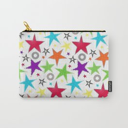 Trendy colourful star Carry-All Pouch