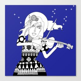 The Queen of Spades - The Sonata Canvas Print