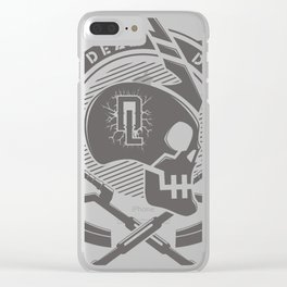 living dead division Clear iPhone Case