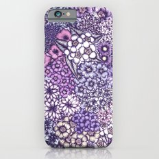 Faded Blossoms iPhone 6 Slim Case