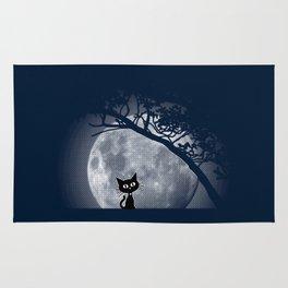 Moon Kat Rug