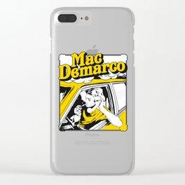 Mac Demarco Drives The Car Clear iPhone Case