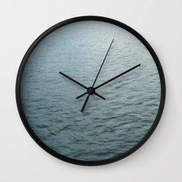 Still flowing Wall Clock