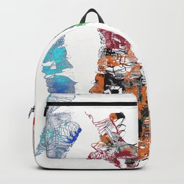 Bodies of fibre in colors Backpack