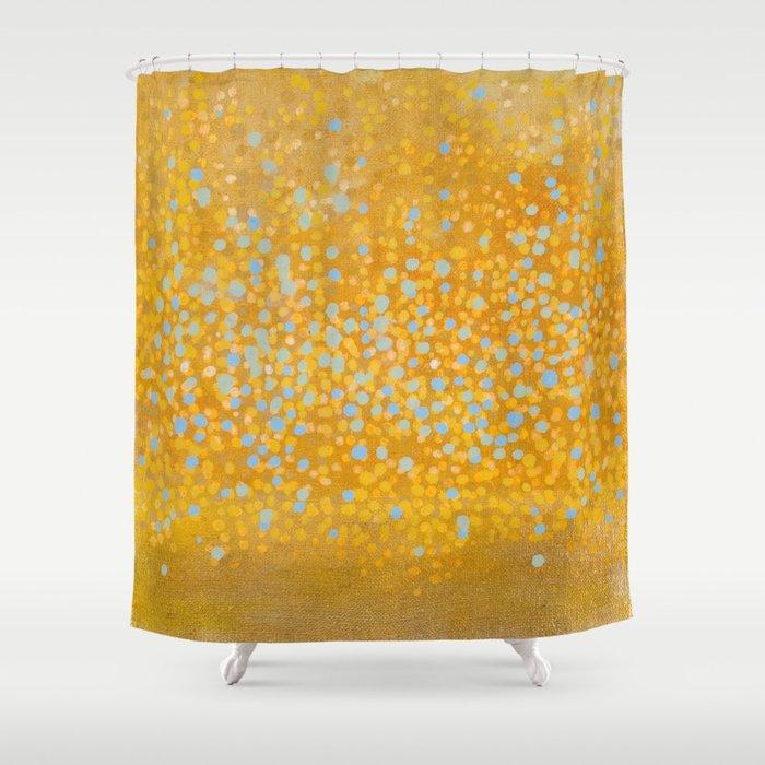 Landscape Dots - Breath Shower Curtain