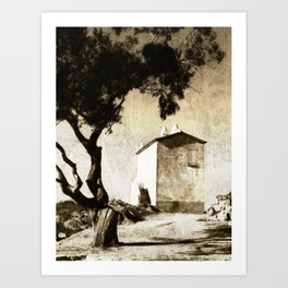 L'Agriate - Corsica Art Print