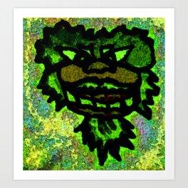 harry the hippie Art Print