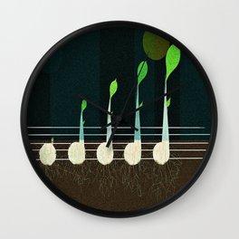 music seeds Wall Clock