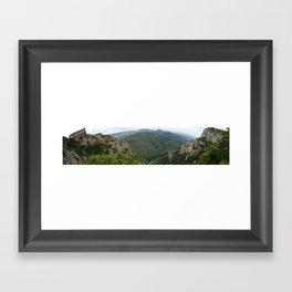 Montserrat, Barcelona Framed Art Print
