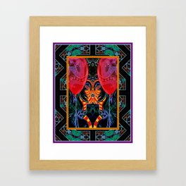 Law Cat - Judge* Framed Art Print