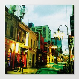 Chinatown Colour Canvas Print
