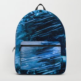 The crack of Baikal ice Backpack