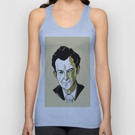 Composer Benjamin Britten Aldeburgh Southwold Beach British English Music Musician UK England Unisex Tank Top
