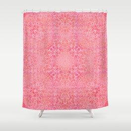 Brian's Bubbliscious Pattern (Cherry Fizz) Shower Curtain
