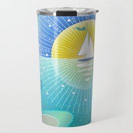 Sunny Sailing Travel Mug