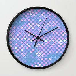 Candy Mosaic Wall Clock