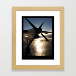 The Luster of the Plane Propeller  Framed Art Print
