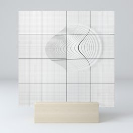 Grid 14 (Overlap) Mini Art Print
