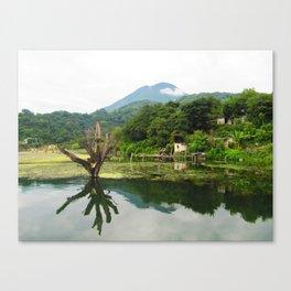 Lake Atitlan, San Jose, Guatemala  Canvas Print