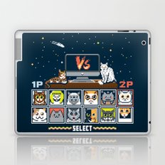 Internet Cat Fight Laptop & iPad Skin