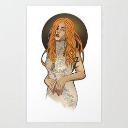 Clarissa Art Print
