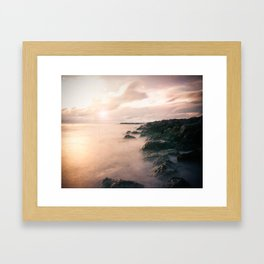 Good To Sea Framed Art Print