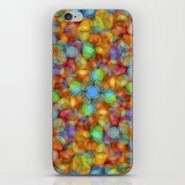Bubbly Colours Pattern iPhone Skin