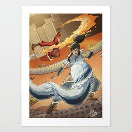 The Avatar series Art Print