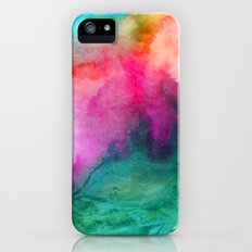 Staring at the Ceiling iPhone SE Slim Case