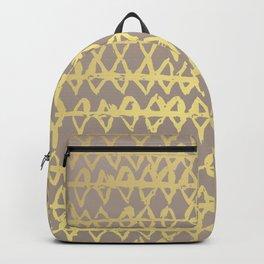 Golden Ornament Backpack
