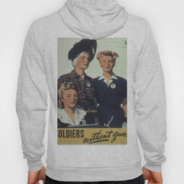 Vintage poster - Soldiers without guns Hoody