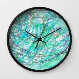 Tangled View Wall Clock