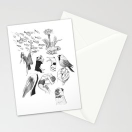 Ink Thoughts One Stationery Cards