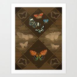 Fluttering Beauty Art Print