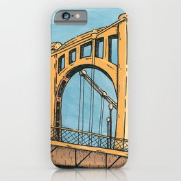 Roberto Clemente Bridge - Pittsburgh iPhone Case