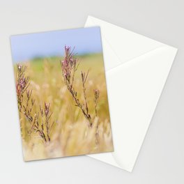 Two pink wildflowers Stationery Cards
