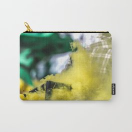 Yellow Smoke  Carry-All Pouch